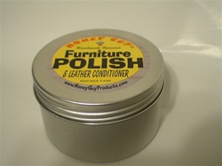 BEESWAX FURNITURE POLISH (PASTE) 8floz TIN