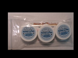 Honey Guy® HONEY SCENTED LIP BALM - PLASTIC TUB - 3 PACK