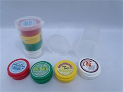 PLASTIC TRAVEL KIT - HONEY SCENTED LIP BALM